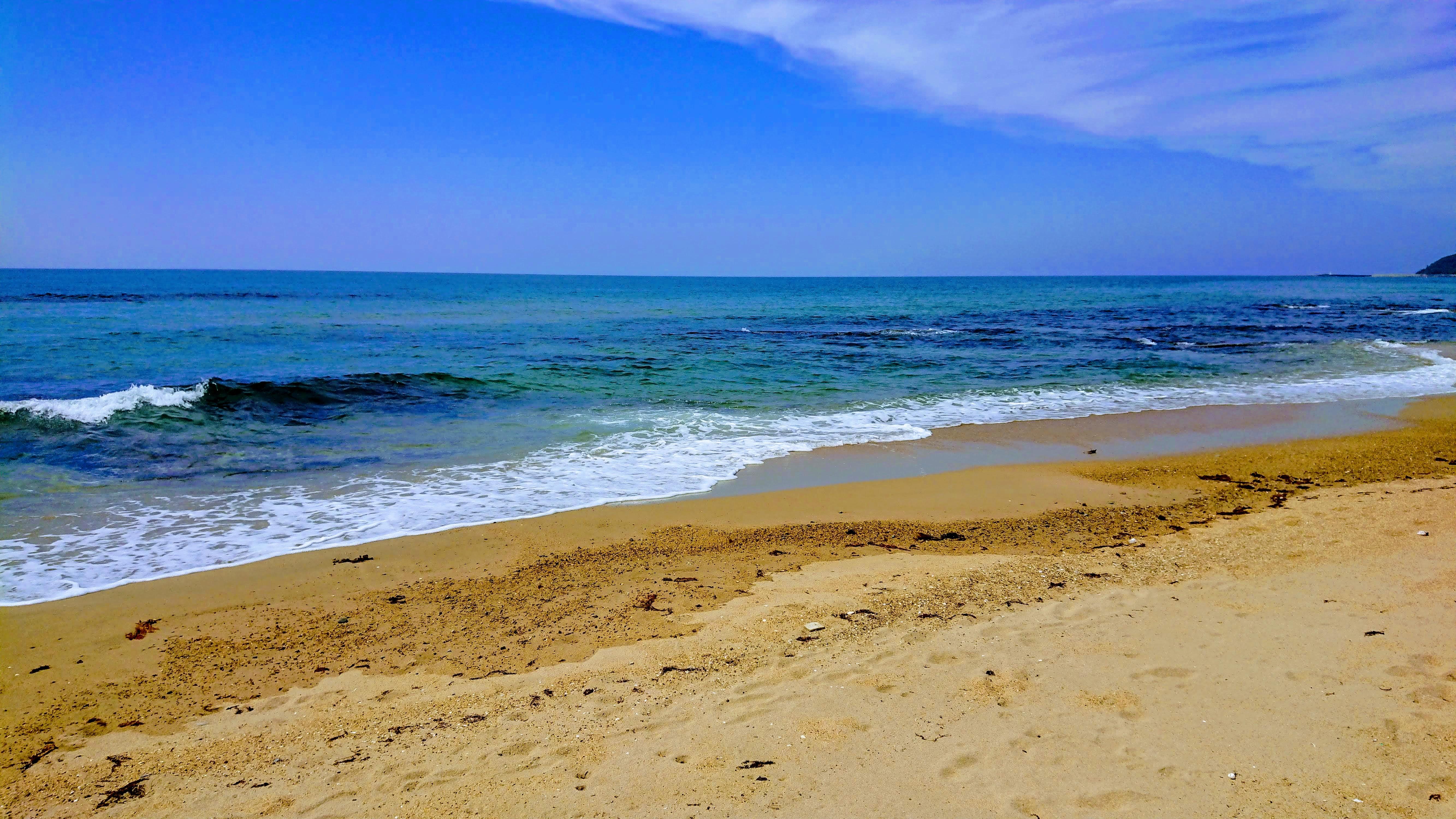 砂浜と海岸