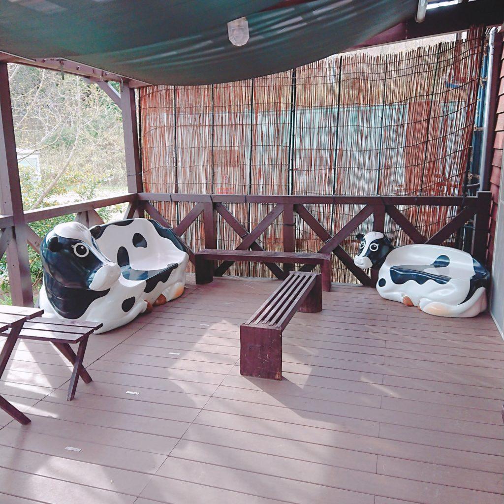 アケイシア・ファームの座席