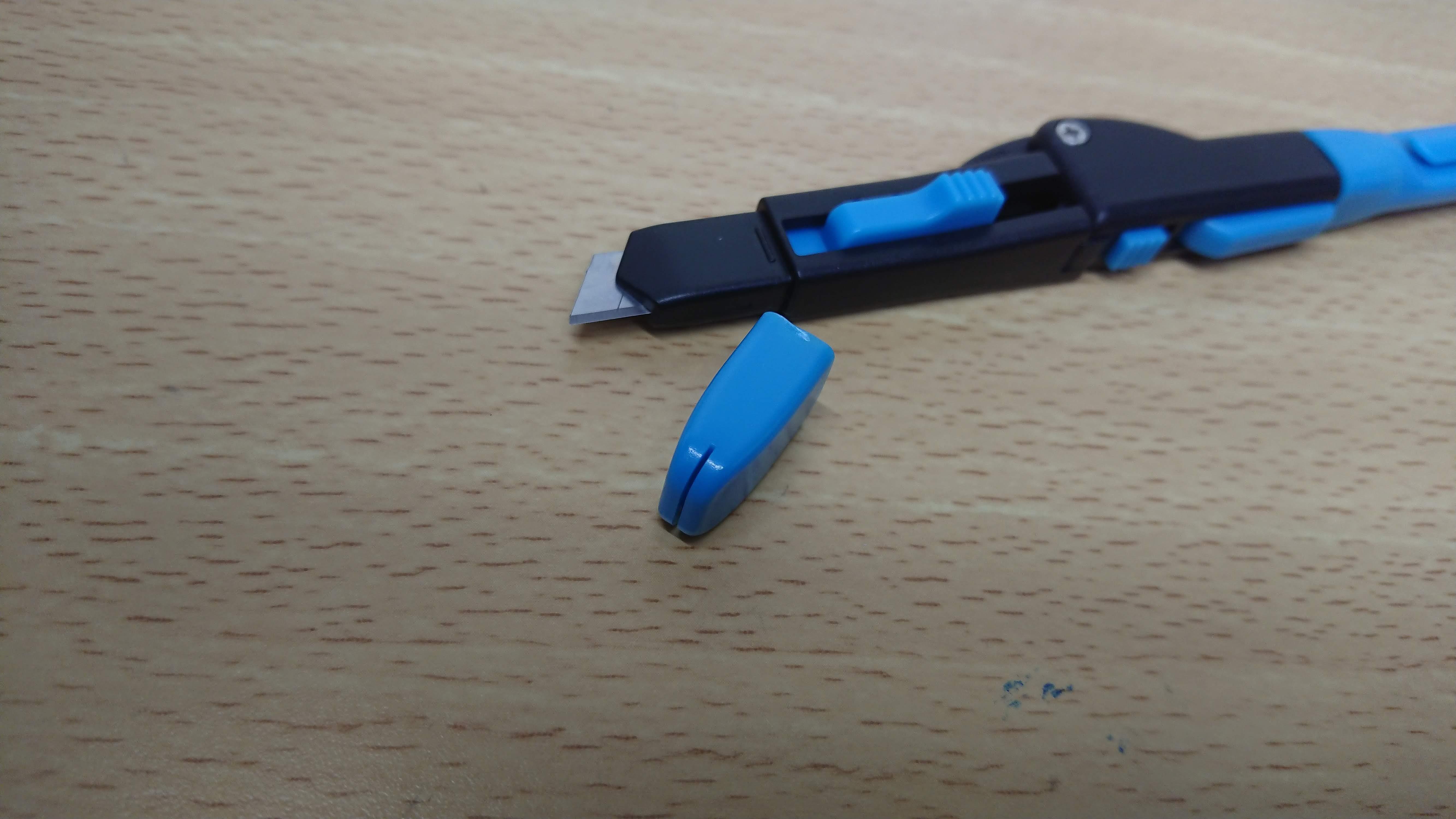 OHTO カットプロのカッター折り刃用溝