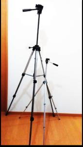 「APRIO LT-170」と110cmの三脚との比較