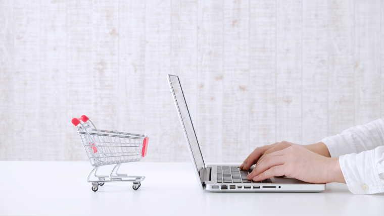 ショッピングカートとPC