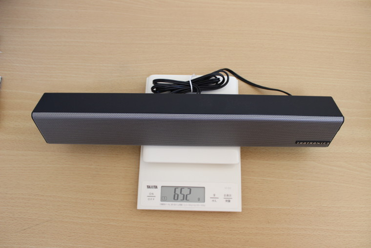 TaoTronics TT-SK018の重さ