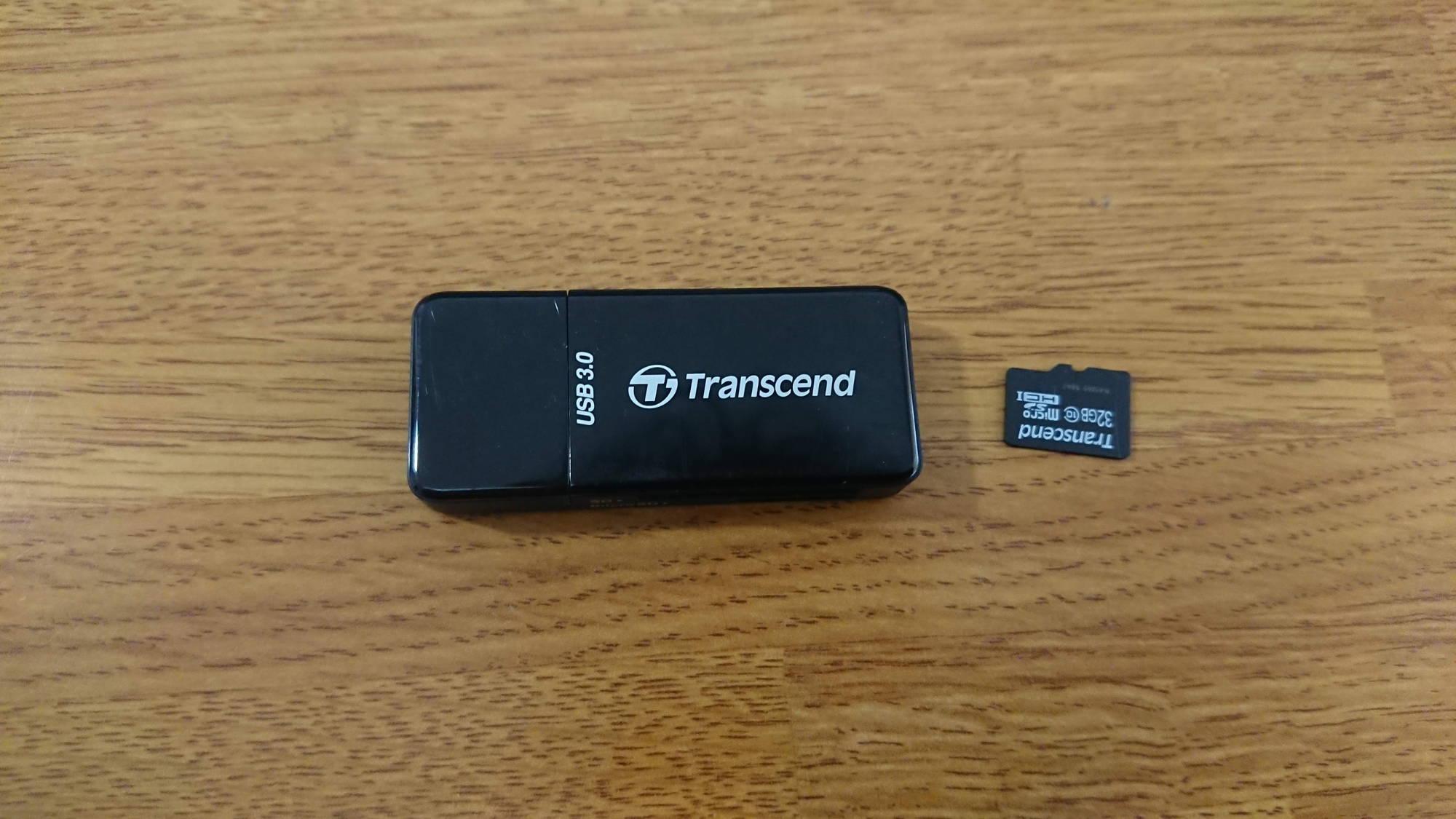 SDカードとUSBメモリ変換アダプタ