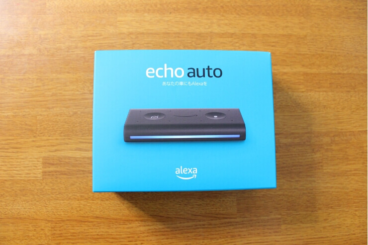 Amazon Echo auto の箱