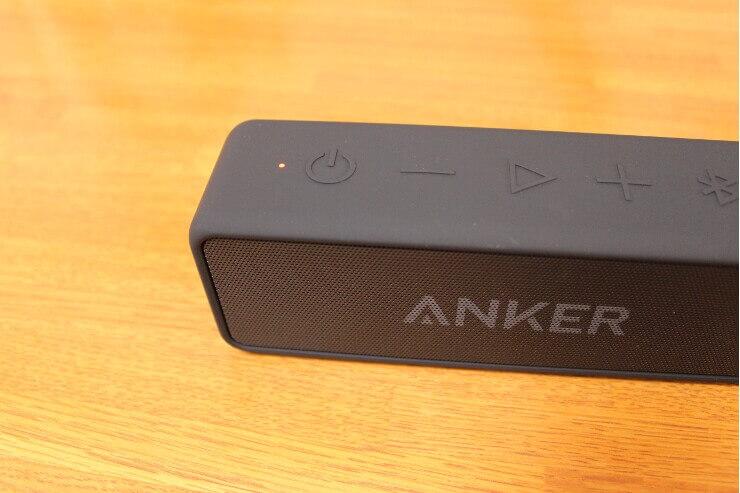 Anker Soundcore 2を充電している時のLED
