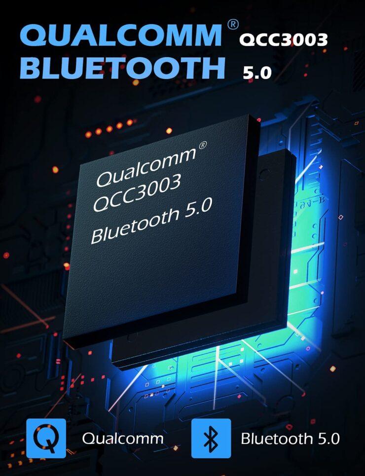 「OneOdio SuperEQ S2」Bluetoothチップ