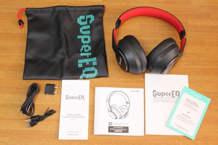 「OneOdio SuperEQ S1」同梱品一覧