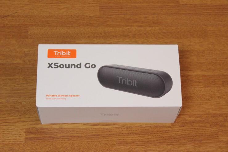 「Tribit XSound Go」ポータブルワイヤレススピーカーの箱
