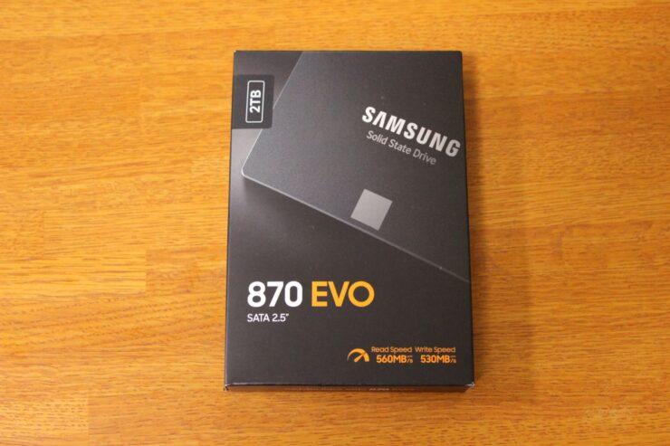 Samsung SSD 870 EVO 2TB